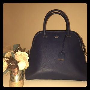 Gently used Kate Spade navy blue tote.